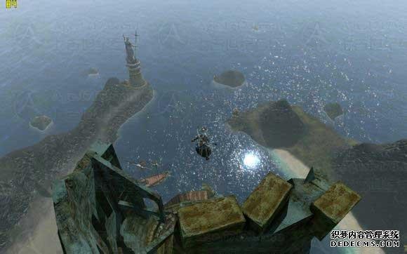 爬山党必看:教你登上海盗岛废墟塔塔尖